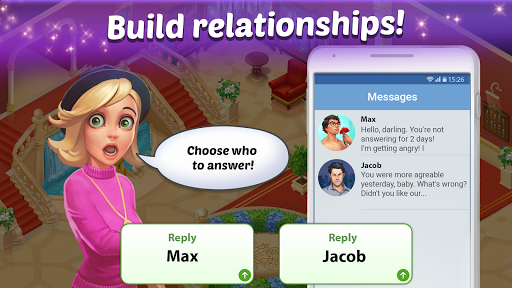 Family Hotel: Renovation & love storymatch-3 game 1.96 screenshots 4