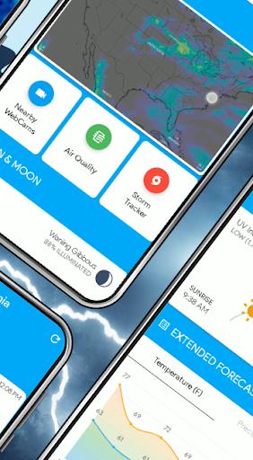 Weather Home - Live Radar Alerts & Widget  screenshots 3