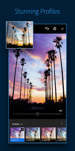 Adobe Lightroom - Photo Editor & Pro Camera 6.1.0 screenshots 4