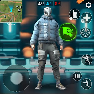 Ghosts Fire: Free Battle Royale &amp Shooting games