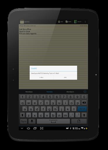NOTES 1.27 Screenshots 14