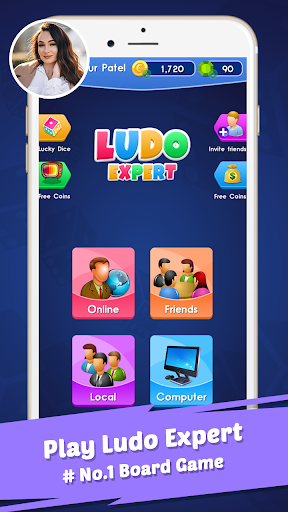 Ludo Expert: Online Dice Board Ludo & Voice Chat 1.5 screenshots 1