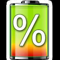Показатель батареи в процентах