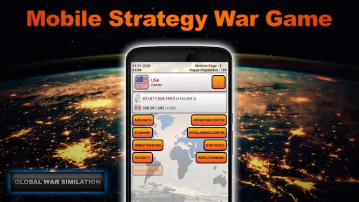 Global War Simulation Lite Strategy War Game v23 LITE Screenshots 1