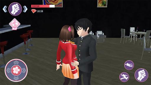 Sakura Anime School Girl Simulator  screenshots 4