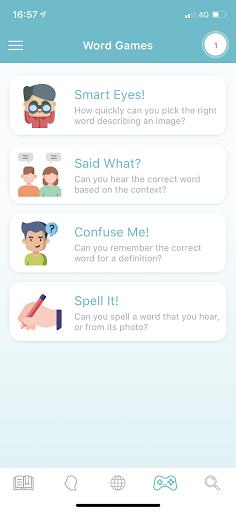 WordUp Vocabulary 3.0.1 Screenshots 5