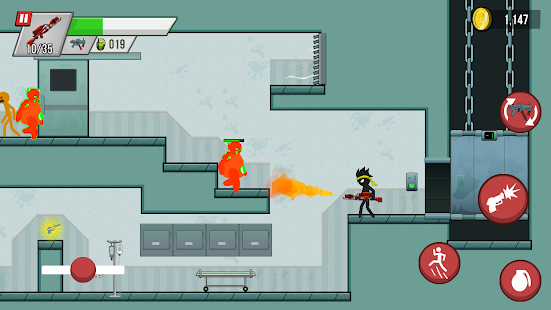 Stickman vs Zombies Screenshot