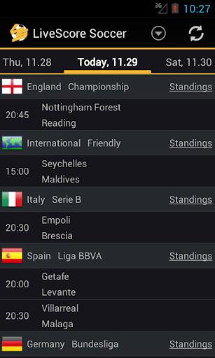 LiveScore Football  screenshots 1