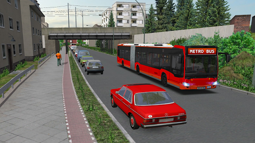 Metro Euro Bus Game 21:City Bus Drive Simulator 21 screenshots 2