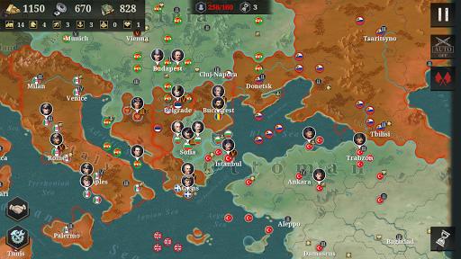 European War 6:1914 - WW1 Strategy Game  screenshots 5