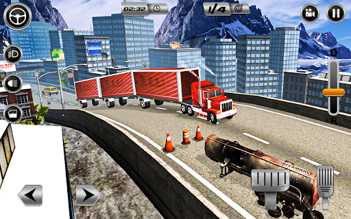 Euro Long Trailer Truck Sim 2021: Cargo Transport 2.4 screenshots 6