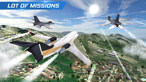 Airplane Flight Pilot Simulator  screenshots 2