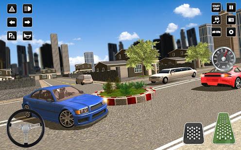 3D Driving School Simulator: City Driving Games 1.6 Screenshots 13