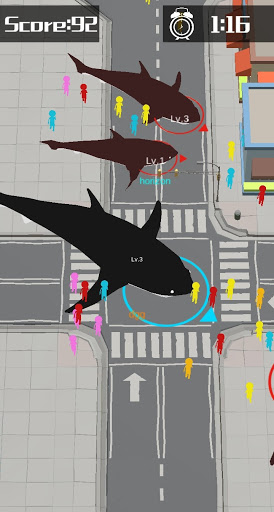 Shark Rampage: Shark War - Animal Warfare.io  screenshots 20