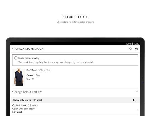 John Lewis & Partners modavailable screenshots 9