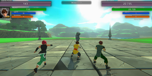 Burst To Power - Anime fighting action RPG  screenshots 7