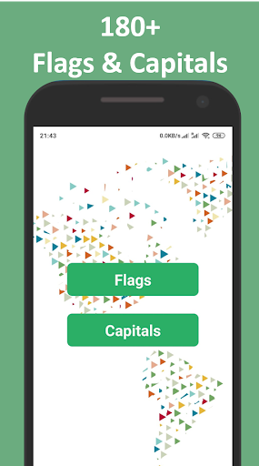 Flags & Capitals Quiz: World Geography Games screenshots 1