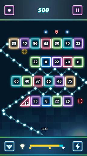 Balls vs Blocks : Bricks Breaker Throw apklade screenshots 2