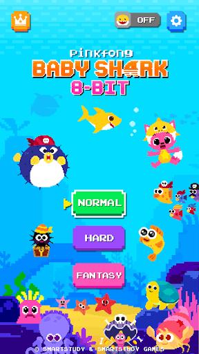 Baby Shark 8BIT : Finding Friends 2.4 screenshots 1