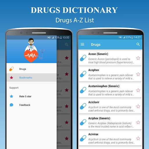 Drugs Dictionary Offline - Drug A-Z List 2.0 Screenshots 3