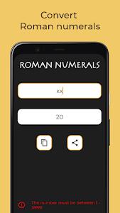 Roman numerals and date generator 2.3