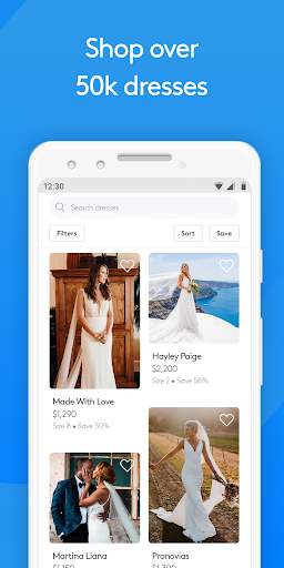 Stillwhite: Wedding Dress Marketplace android2mod screenshots 3