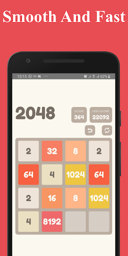 Number Puzzle:  2048 Puzzle Game 2.7.5 screenshots 6