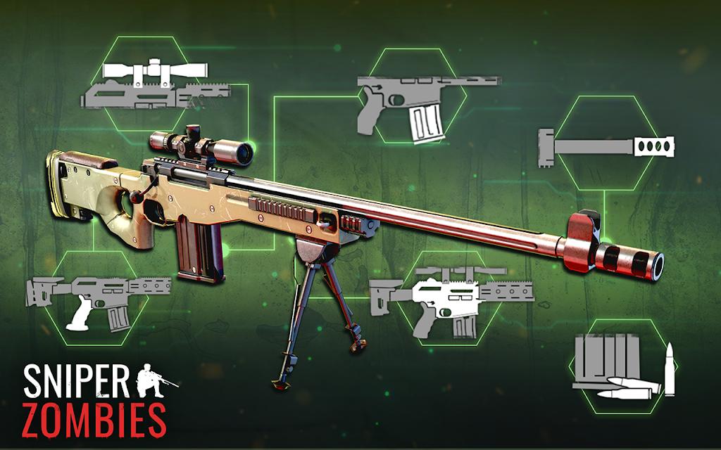 Sniper Zombies: Offline Games 3D  poster 1