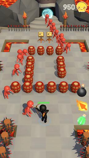 Stickman - zombie games and archery war 21.0.0 screenshots 1