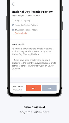 Parents Gateway modavailable screenshots 2