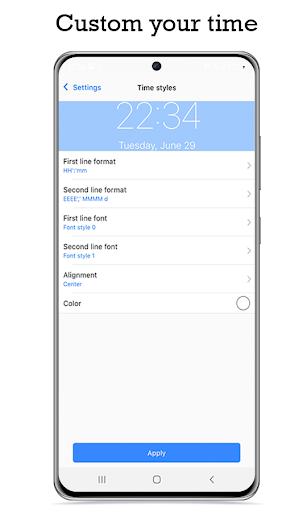 Lock Screen & Notification iOS14 android2mod screenshots 5