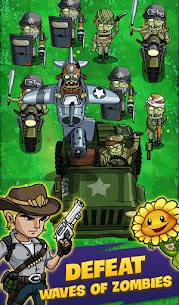 Zombie War: Idle Defense Game Mod 49 Apk (Unlimited gold) 1