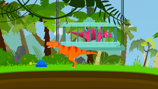 Jurassic Rescue – Dinosaur Games in Jurassic! Hack for Android and iOS 3