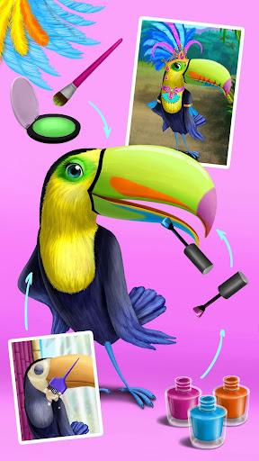 Jungle Animal Hair Salon - Styling Game for Kids 4.0.10018 screenshots 6