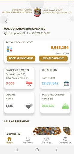 COVID19 UAE 1.6-prd Screenshots 10