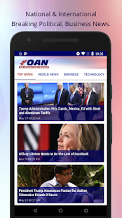 OANN: Live Breaking News Screenshot