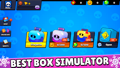 Case Simulator open Brawl Stars Loot Box 1.05 screenshots 1