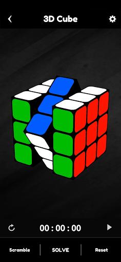 Cubik's - Rubik's Cube Solver, Simulator and Timer apkpoly screenshots 2