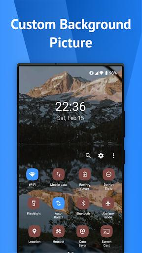One Shade: Custom Notifications and Quick Settings apktram screenshots 4