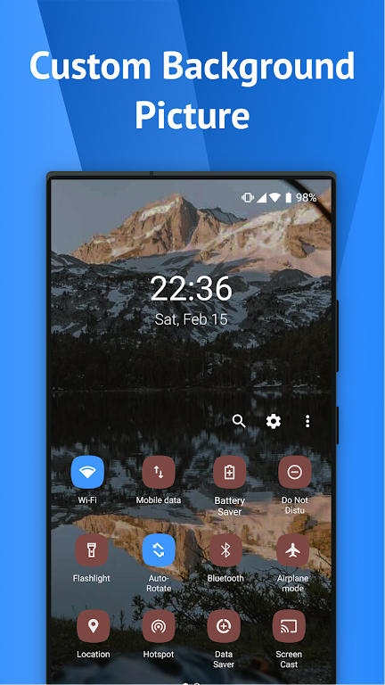 One Shade: Custom Notifications and Quick Settings poster 3