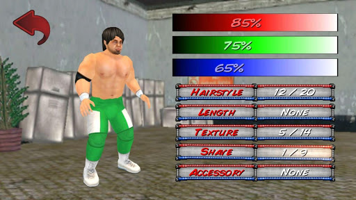 Wrestling Revolution 3D screenshots 12
