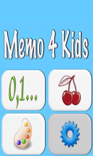 Memo 4 Kids For PC Windows (7, 8, 10, 10X) & Mac Computer Image Number- 5