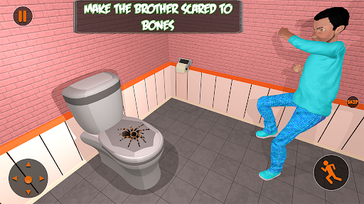 Scary Brother 3D - Siblings New family fun Games apkdebit screenshots 18