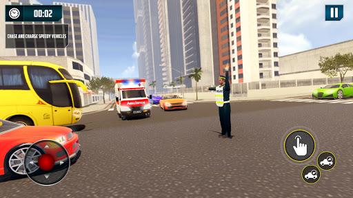 Traffic Police Simulator - Traffic Cop Games Apkfinish screenshots 9
