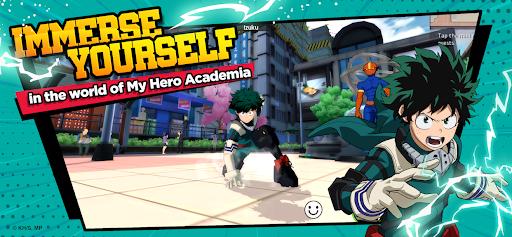 My Hero Academia: The Strongest Hero Anime RPG Apkfinish screenshots 2