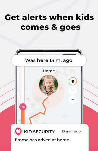 Kid security - GPS phone tracker, family search 1.207 Screenshots 2