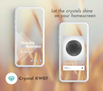 Crystal KWGT 10.0 Apk 2