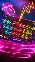 Multi Color Led Light Keyboard Theme