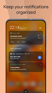 Mi Control Center Pro Mod Apk Notifications and Quick Actions 5