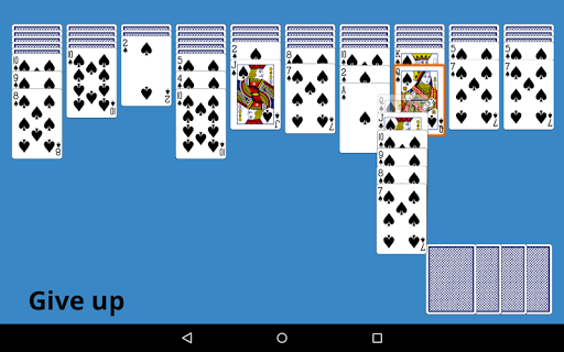 Classic Spider Solitaire 4.8 screenshots 5